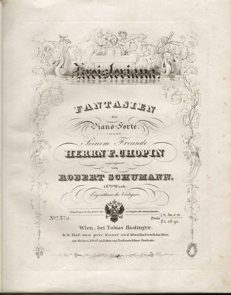 Titelblatt zu op. 16
